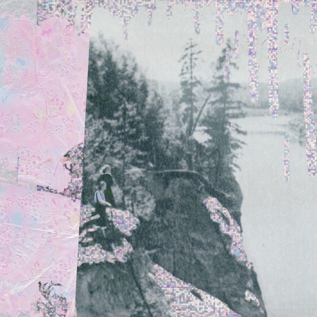 Pabūt divatā / digital collage and painting / 2019