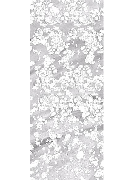 Molecules / Digital art / 83 x 200 cm / 200